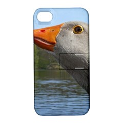 Geese Apple Iphone 4/4s Hardshell Case With Stand by Siebenhuehner