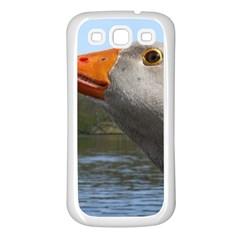 Geese Samsung Galaxy S3 Back Case (white) by Siebenhuehner