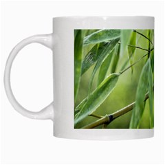 Bamboo White Coffee Mug by Siebenhuehner