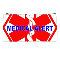 Medical Alert Health Identification Sign Pencil Case by youshidesign