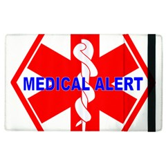 Medical Alert Health Identification Sign Apple Ipad 2 Flip Case by youshidesign