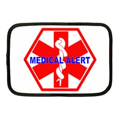 Medical Alert Health Identification Sign Netbook Case (medium)