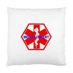 Medical Alert Health Identification Sign Cushion Case (single Sided)  by youshidesign