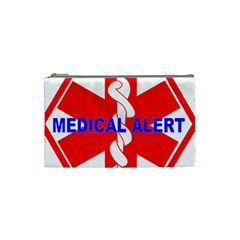 Medical Alert Health Identification Sign Cosmetic Bag (small) by youshidesign