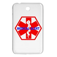 Medical Alert Health Identification Sign Samsung Galaxy Tab 3 (7 ) P3200 Hardshell Case  by youshidesign