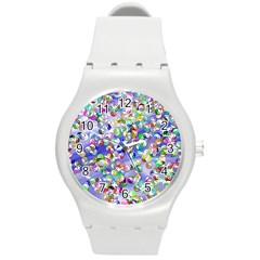 Ying Yang Plastic Sport Watch (medium) by Siebenhuehner