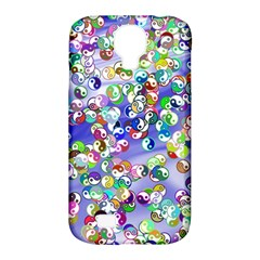 Ying Yang Samsung Galaxy S4 Classic Hardshell Case (pc+silicone) by Siebenhuehner