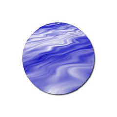 Wave Drink Coasters 4 Pack (round) by Siebenhuehner