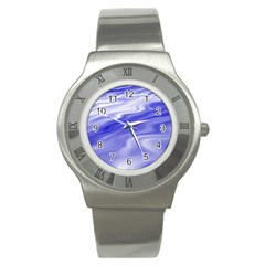Wave Stainless Steel Watch (unisex) by Siebenhuehner