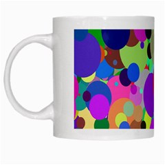 Balls White Coffee Mug by Siebenhuehner