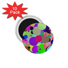 Balls 1 75  Button Magnet (10 Pack) by Siebenhuehner