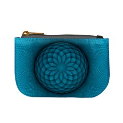 Spirograph Coin Change Purse
