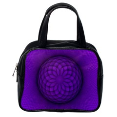 Spirograph Classic Handbag (one Side) by Siebenhuehner