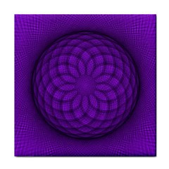 Spirograph Face Towel by Siebenhuehner