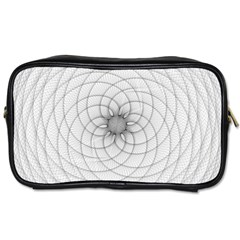 Spirograph Travel Toiletry Bag (one Side) by Siebenhuehner