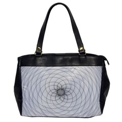Spirograph Oversize Office Handbag (one Side) by Siebenhuehner