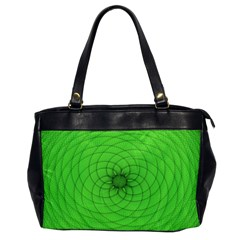 Spirograph Oversize Office Handbag (one Side)