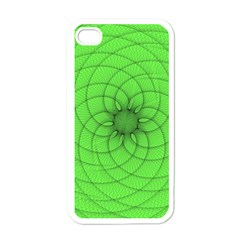 Spirograph Apple Iphone 4 Case (white) by Siebenhuehner