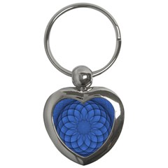 Spirograph Key Chain (heart) by Siebenhuehner