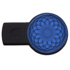 Spirograph 4gb Usb Flash Drive (round)