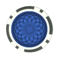 Spirograph Poker Chip by Siebenhuehner