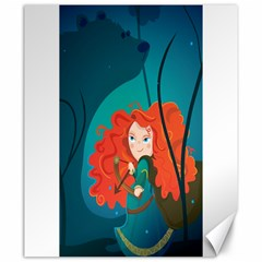 Merida Canvas 20  X 24  (unframed) by Mjdaluz