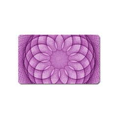 Spirograph Magnet (name Card) by Siebenhuehner