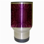 Spirograph Travel Mug (Silver Gray) Center
