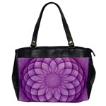 Spirograph Oversize Office Handbag (One Side) Front