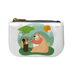 Tea Time Coin Change Purse