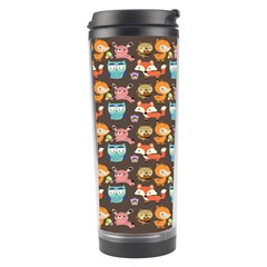 Woodland Animals Travel Tumbler by Mjdaluz