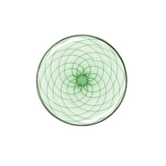 Spirograph Golf Ball Marker (for Hat Clip) by Siebenhuehner