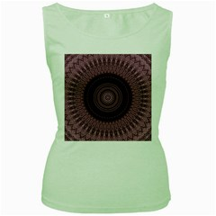 Mandala Womens  Tank Top (green) by Siebenhuehner