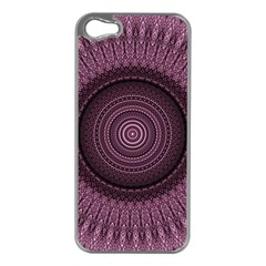 Mandala Apple Iphone 5 Case (silver) by Siebenhuehner