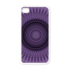 Mandala Apple Iphone 4 Case (white) by Siebenhuehner