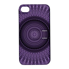 Mandala Apple Iphone 4/4s Hardshell Case With Stand by Siebenhuehner