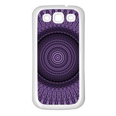 Mandala Samsung Galaxy S3 Back Case (white) by Siebenhuehner