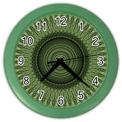 Mandala Wall Clock (color) by Siebenhuehner
