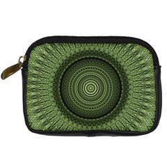 Mandala Digital Camera Leather Case by Siebenhuehner