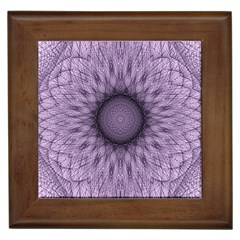 Mandala Framed Ceramic Tile by Siebenhuehner