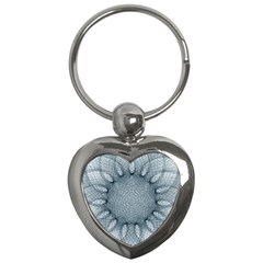 Mandala Key Chain (heart) by Siebenhuehner