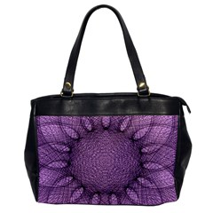 Mandala Oversize Office Handbag (one Side) by Siebenhuehner