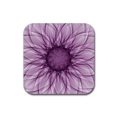 Mandala Drink Coaster (square) by Siebenhuehner