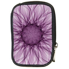 Mandala Compact Camera Leather Case by Siebenhuehner