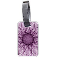 Mandala Luggage Tag (two Sides)