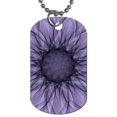 Mandala Dog Tag (two Sided)  by Siebenhuehner