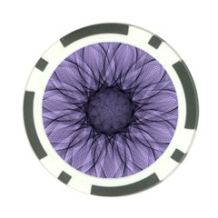 Mandala Poker Chip by Siebenhuehner