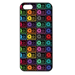 Music Case Apple Iphone 5 Seamless Case (black) by PaolAllen