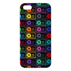 Music Case Iphone 5 Premium Hardshell Case by PaolAllen2