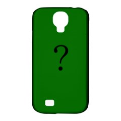 The Riddler Samsung Galaxy S4 Classic Hardshell Case (pc+silicone) by Contest1751774